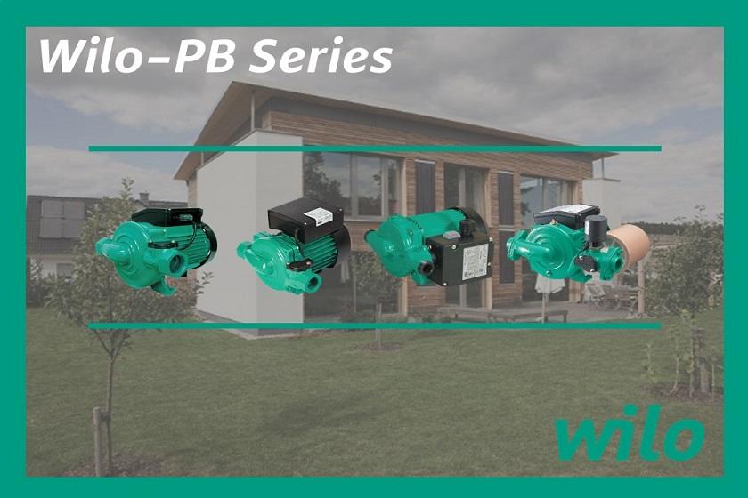 Wilo – PB Series, Solusi Pompa Booster Rumah Anda